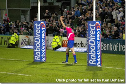Leinster v Connacht pen try