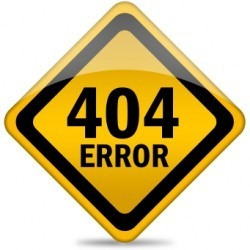Custom 404 Error Pages in Blogger