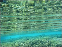 Kauehi - Crystal clear water