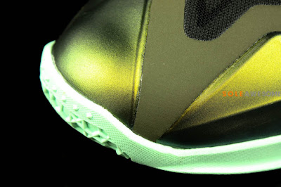 nike lebron 11 gr army slate 8 08 parachute gold Nike LeBron XI is Coming out on October 12th. New pics!