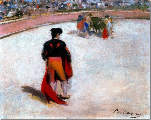 ramon casas i carbo_Torero