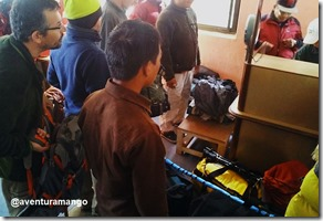 Check in no Aeroporto de Lukla