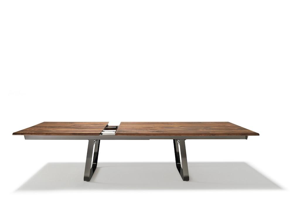 Nox uittrekbare tafel noordkaap meubelen for Uittrekbare tafel