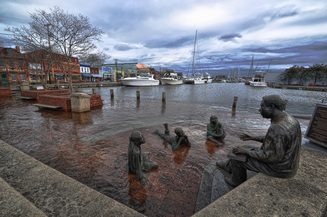 Annapolis, Maryland, pictured here in 2012, saw the greatest increase in nuisance flooding in a NOAA study that was released on 28 July 2014. Photo: Amy McGovern
