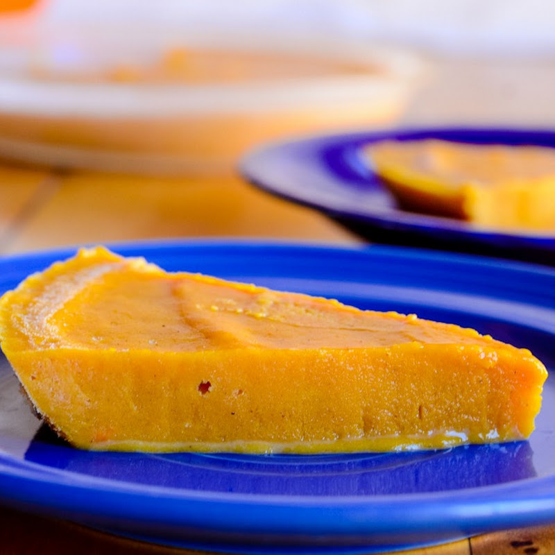 Pumpkin Ice cream pie, without ice cream
