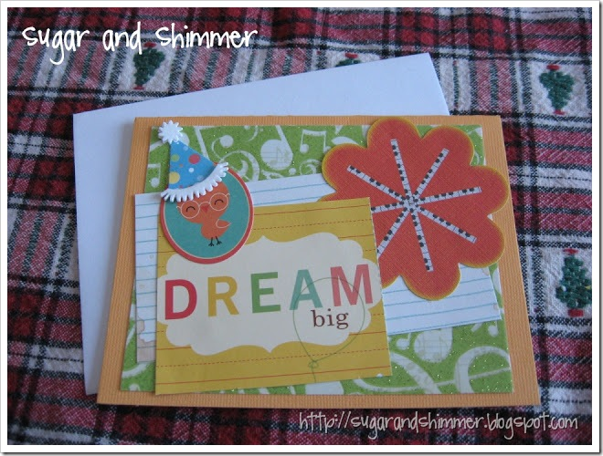 Dream Big Birthday Card