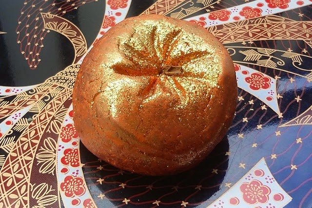 Lush Sparkly Pumpkin Bubble Bar
