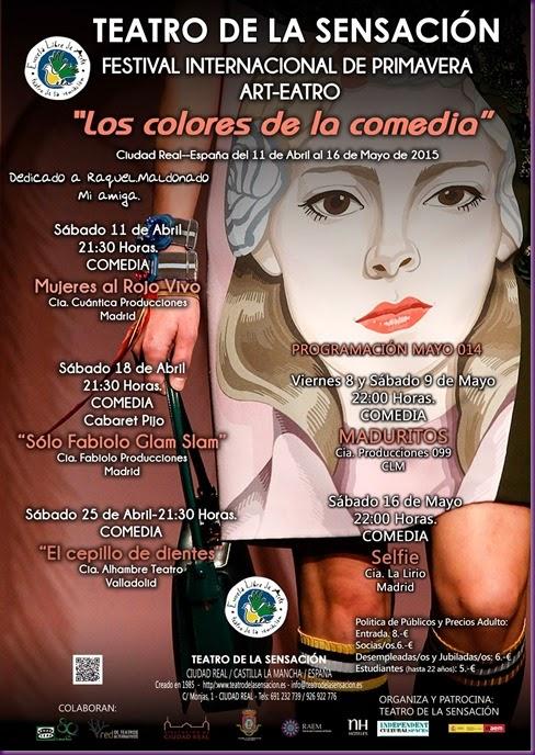 CARTEL FESTIVAL COMEDIA 2015