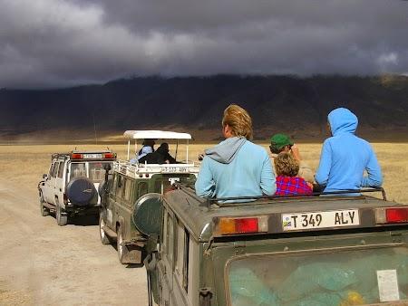 Safari in Ngorongoro Tanzania