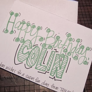 Card for Colin 3