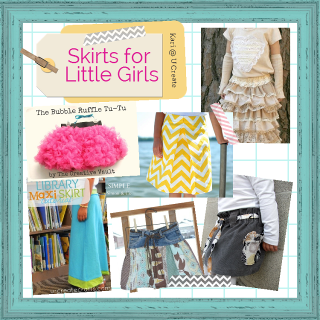 Skirts for Little Girls Inspiration Board