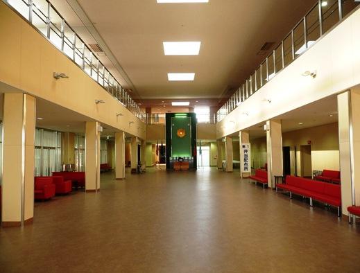 Gloria Ishizaka - PL 2011 - Hall de entrada do centro de aprimoramento