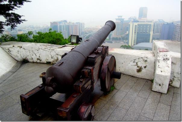東望洋砲台