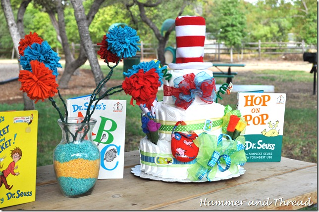 Diaper cake tutorial finished