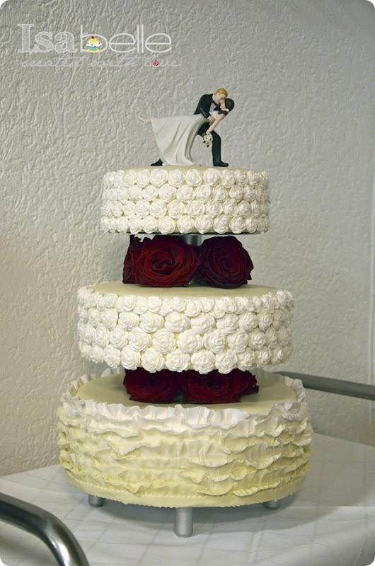 Hochzeitstorte created by Isabelle