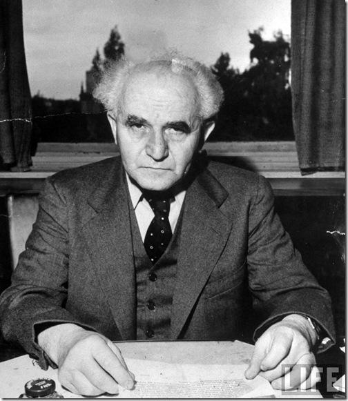 David Ben Gurion. 1948 .Dmitri Kessel