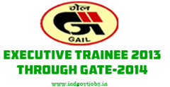 GAIL Executive Trainee 2013
