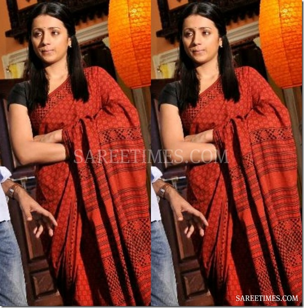 Trisha_Brown_Saree