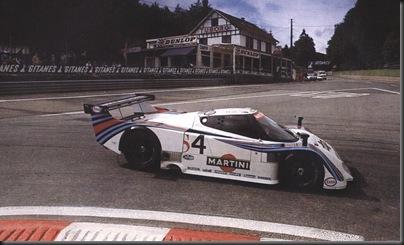 1983 Spa-Francorchamps Lancia LC2 Riccardo Patrese