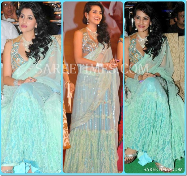 Anjali_Lavania_Blue_Shimmer_Saree