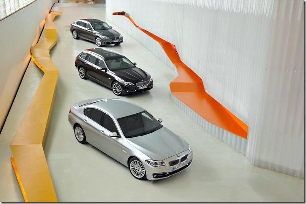 BMW mostra o Série 5 2014 (8)