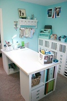 cube bookshelves like I want for sewing room table