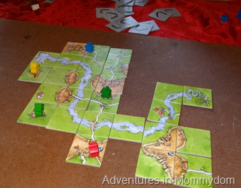 Carcassone tips for kids