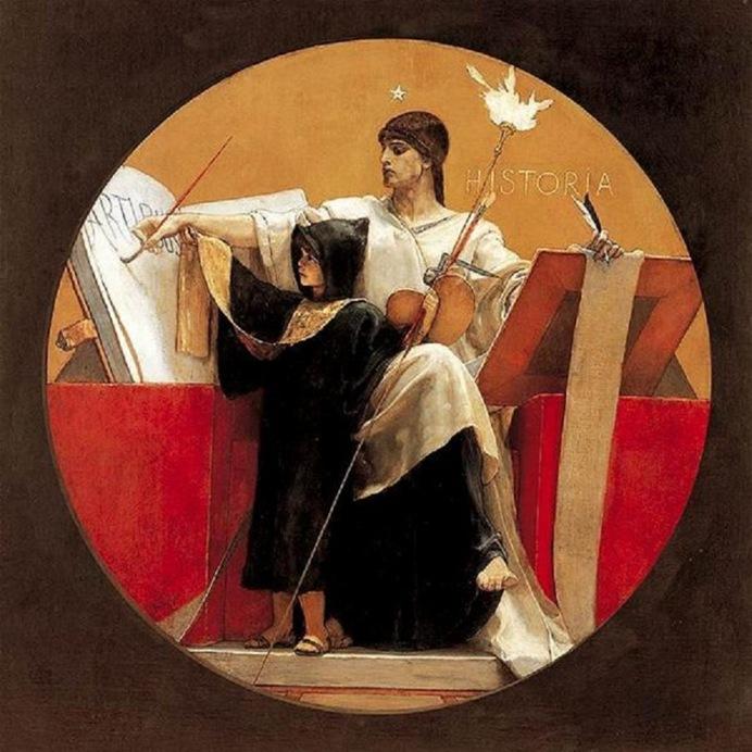 Nikolaos Nazos-allegorie-Histoire