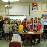 WBFJ Cici's Pizza Pledge - Grays Chapel Elementary - Ms. Hedrick's 4th Grade Class - Franklinville -