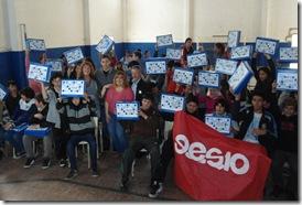 Juan Pablo de Jesús entregó netbooks a alumnos de la Secundaria N°10 de Mar de Ajó