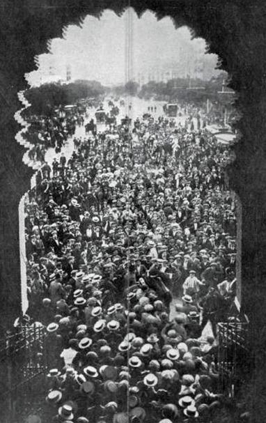 1914-07-03 Mundo grafico (1914-07-08 p) Triunfo de Joselito en Madrid 05