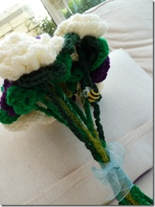 Crochet Flower Bouquets (21)
