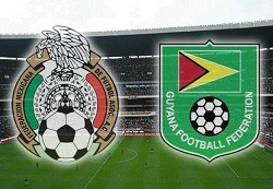 Mexico vs Guyana en VIVO online