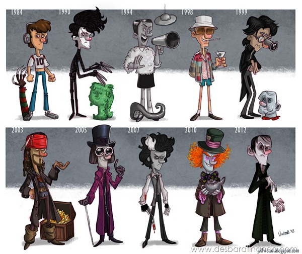 Jeff-Victor-The-Evolution-of-the-Famous-Actors-Johnny-Depp-final