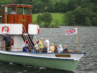 A cruise on Lake Windermere.
