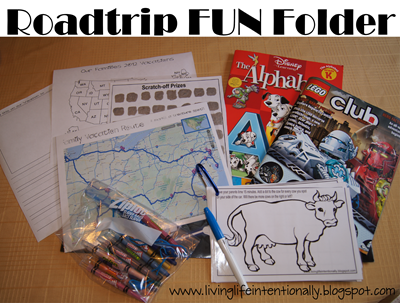 FREE Roadtrip Games for Kids