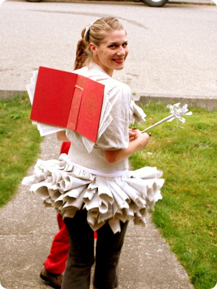 book fairy costume tutorial