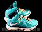 nike lebron 10 gr miami dolphins 1 03 Gallery: Nike LeBron X Miami Setting or Dolphins if you Like