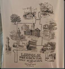 The Tech Shirt showing the Coarse.