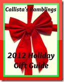 Holiday Gift Guide 2012 Callista's Ramblings
