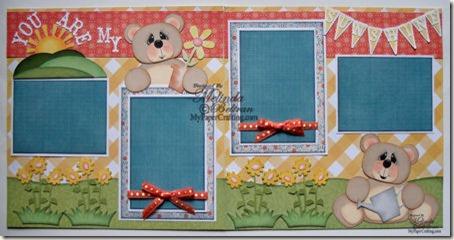 cricut bear sunshine paper piecing country life cartridge-450