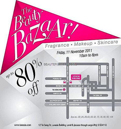 Luxasia beauty Bazaar warehouse  SALE singapore tai seng street