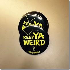 Keep YA Weird button