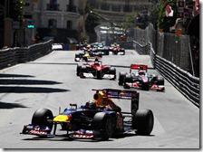 Prima vittoria di Vettel a Montecarlo