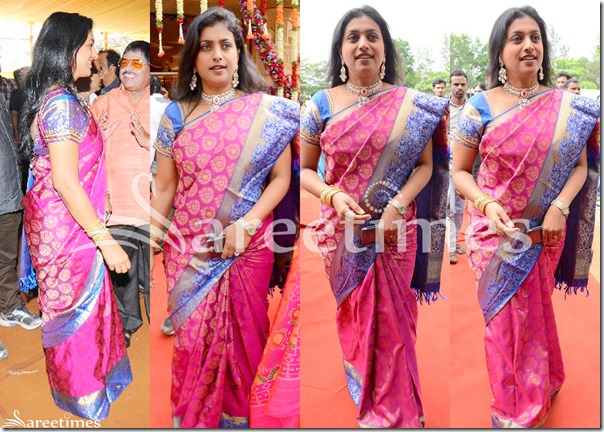 Roja_Pink_Traditional_Saree
