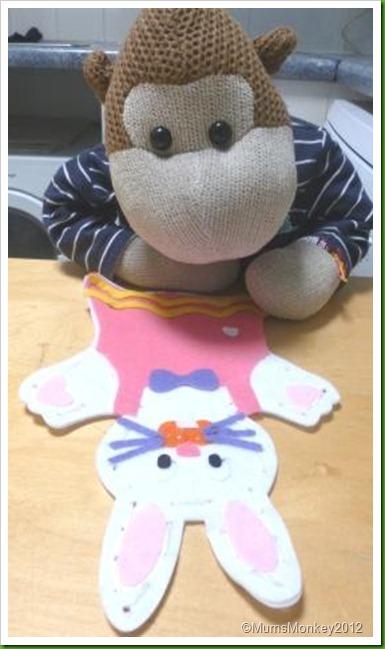 Poundland Easter Puppet Kit
