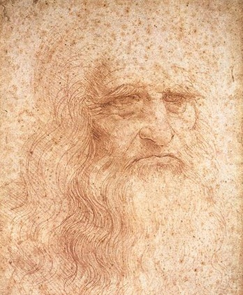 leonardodavinci self portrait