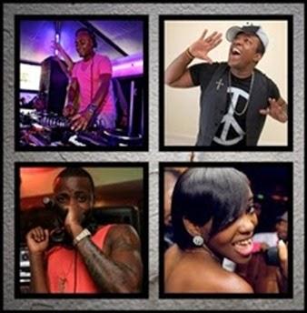 DJ Darcy, Daniel Nascimento, Preto Show & Maya Zuda so 9dades