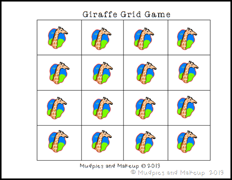 Giraffe Printables 8