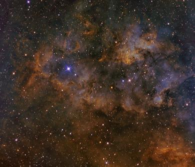 nebulosa de emissão Sharpless 115